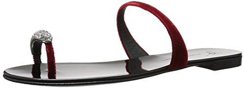 Sandal Rosso Giuseppe Zanotti I800003 Women's Flat xARqF