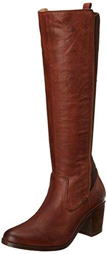 FRYE Women's Janis Gore Tall Riding Boot, Whiskey, 9 M US