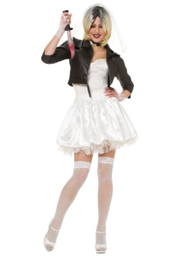 Bride Costumes Tiffany Of Chucky (Bride of Chucky Adult Costume (Small)