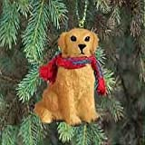 Golden Retriever Ornament - Hanging Christmas Ornament