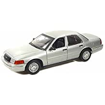 Ford Crown Victoria Blank Interceptor Special Service 1/18 Silver