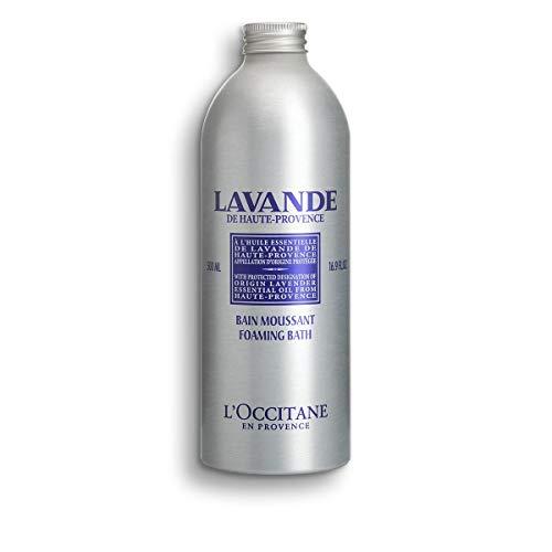 L'Occitane Relaxing & Foaming Lavender Bubble Bath, Standard, 16.9 Fl Oz