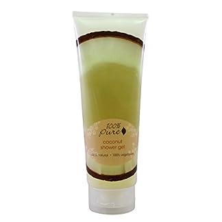 Organic Coconut Shower Gel by 100% Pure, 8 oz
