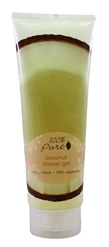 Organic Coconut Shower Gel by 100% Pure, 8 oz