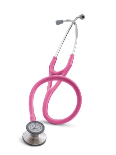 3M Littmann Cardiology III Stethoscope, Breast Cancer Awareness Special Edition, Rose Pink Tube, 27 inch, 3163
