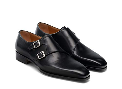 Magnanni Mens Shoes Nappa Dress Bit 21418-Black