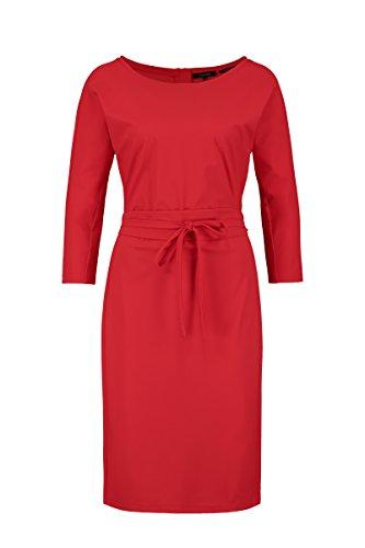 geknotetem Red Kleid Sträter Damen Taillenband mit Claudia 8xvwgHI