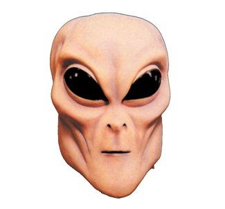 Rubie's Flesh Alien Overhead Mask, Flesh, One Size