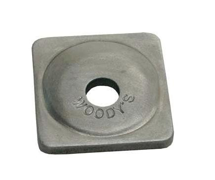 SQUARE GRAND DIGGER SUPPORT PLATE (500), Manufacturer: WOODYS, Part Number: ASG3775-500-AD, VPN: ASG-3775-500-AD, Condition: New