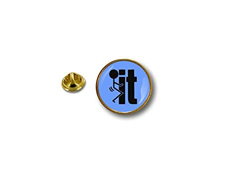 Bleu Pin It Akacha F Biker Pin's Badge Motard Metal Pins 58Sq8zw