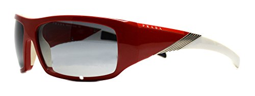 Sunglasses Prada PS 06HS 0BU3M1 red sunglasses - Mens Sunglasses Red Prada