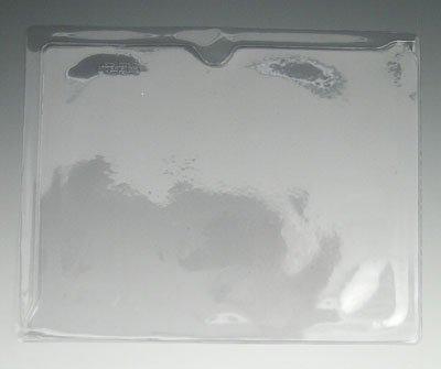 9-1/4'' x 11-3/4'' Clear Vinyl Organizer (50 Envelopoes) - AB-99-4-11C