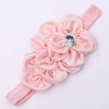 Kids Baby Girl Toddler Flower Bow Headwear cappello per capelli fascia capelli