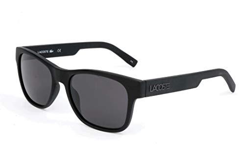 Lacoste L829S Rectangular Sunglasses, Matte Black, 54 mm (Sunglasses Lacoste Black)
