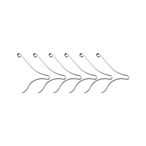 Purplebox Victorinox Scissor Spring Replacement - Medium - 6 Pieces