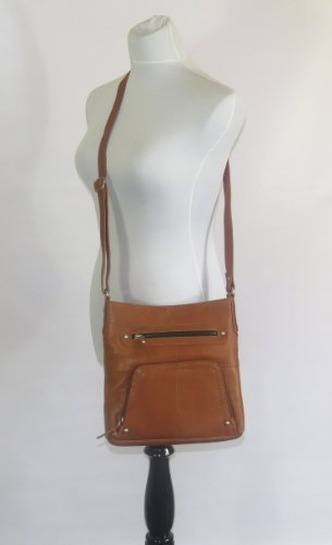 C Slot Taylor Leather Card Pocket with Brown 427 amp; Genuine Handbag Paul Crossbody wHaPFRq