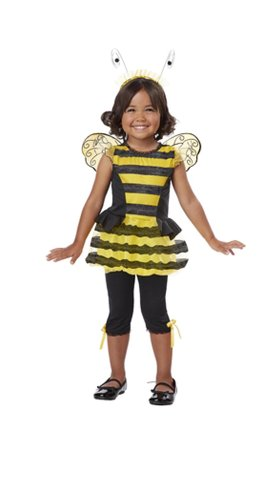California Costumes Buzzin' Around Toddler Costume, 3-4 ()