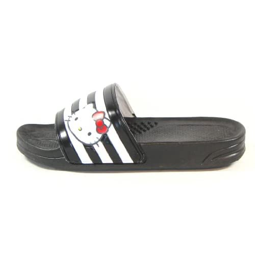 2f525cccb new Hello Kitty LALA Lovely Womens Summer Slippers Shoes Beach Pool Black  US size 6