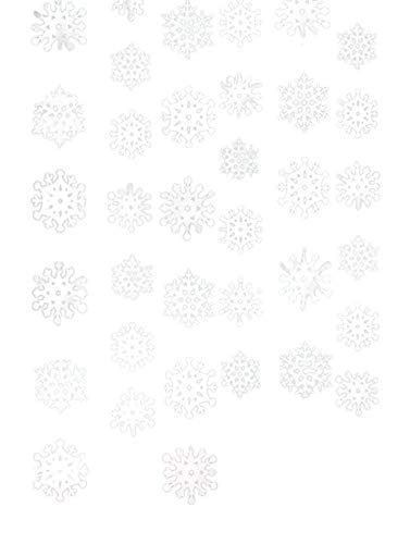 Christmas Snowflake String Foil, 6 Ct. | Party Decoration -