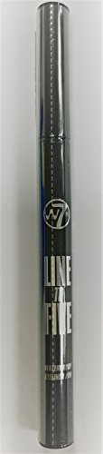 W7 Ultra Fine Waterproof Eye Liner Pen - Black