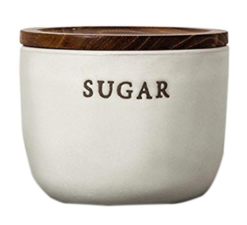 - Hearth and Hand with Magnolia Stoneware Sugar Cellar Cream Joanna Gaines Collection Limited Edition