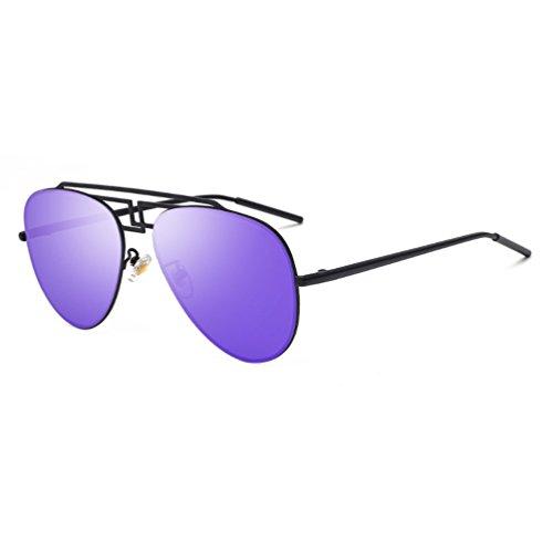 Shun Fat Riding polarized sunglasses driver driving glasses (Blue color, - Fat Sunglasses Man