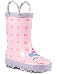 Children's Rubber Rain Boots, Little Kids & Toddler, Boys & Girls Patterns