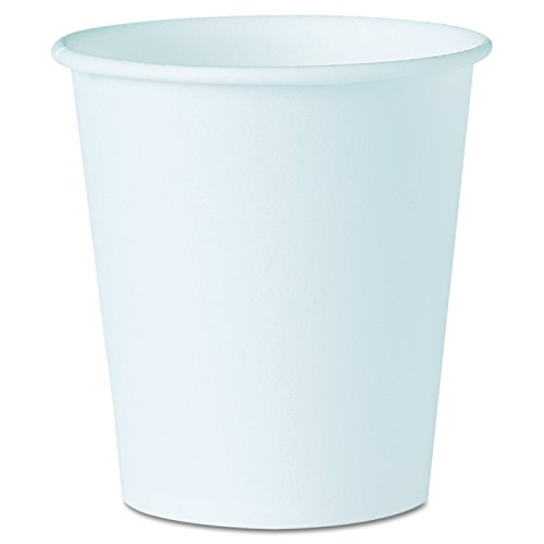 Price comparison product image Solo 44-2050 3 oz White Treated Paper Cup (Case of 5000)