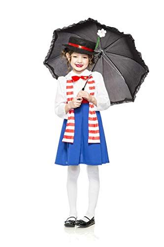 Seeing Red Girl's Child English Nanny Poppins Costume (Medium)]()