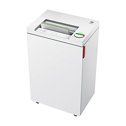 ideal. 2445 High Security Continuous Operation Super Micro Cut Deskside Paper Shredder,  5-7 Sheet, 9 Gal. Bin, 1/2 HP Motor, P-7 Security Level