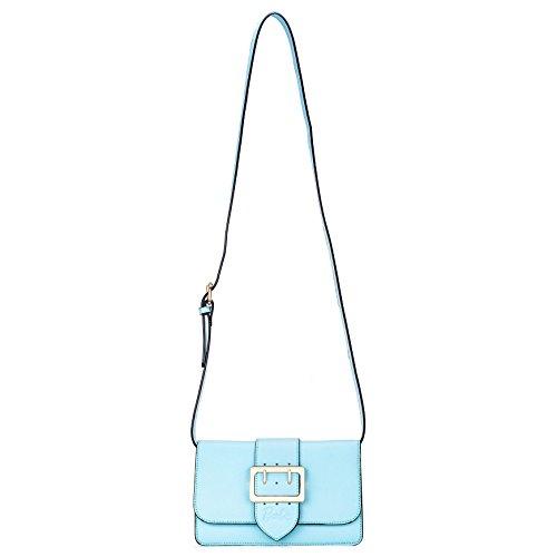 Barbie NEU hochwertiges PU modische ausgezeichnete Damenhandtasche Umhängetasche für Damen Ein perfektes Geschenk für Sie und Ihre Freundin.#BBFB507 (Hellblau)