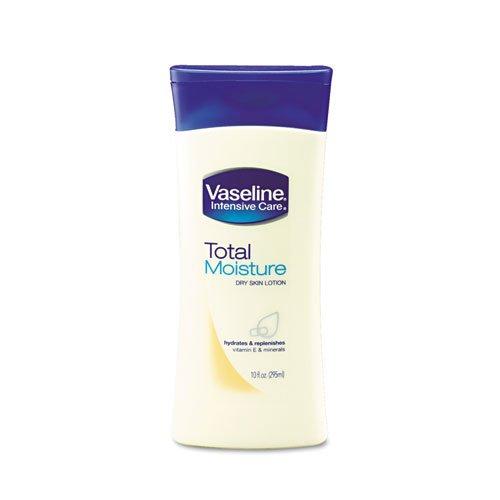 Vaseline Total Moisture Dry Skin Lotion, w/Vitamin E, 10 ...