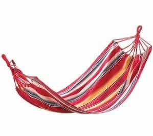 SKB Family Fiesta Colors Striped Hammock backyard sunny vivid relaxation Cotton