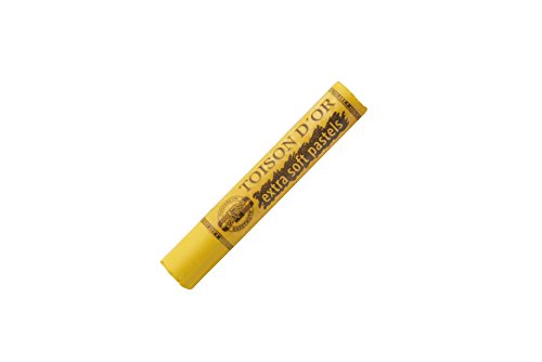 Koh-I-Noor Toison d'Or Extra Soft Pastels, Pack of 4, Chrome Yellow ()