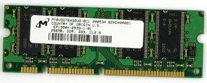- LEXMARK 40X1509 MEMORY, 256MB DDR-DRAM 40X1509 LEXMARK Memory 256MB Ddr dram W840 T644 T644DTN T644N X646EF