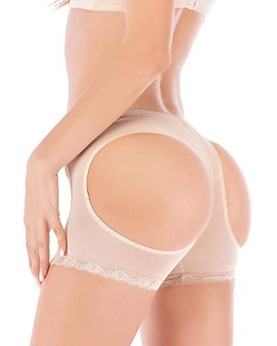 FUT Women Butt Lifter Body Shaper Tummy Control Panties Enhancer Underwear Girdle Booty Lace Shapewear Boy Shorts