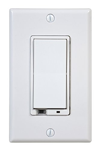 GoControl WD500Z-1 Z-Wave 500-Watt Wall-Mount Dimmer Switch