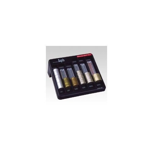 Kyoto Counter - Engels coin counter coin counting container black YH3000BK (japan import)