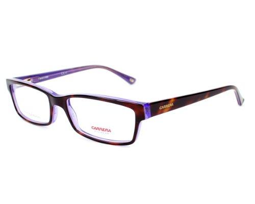 52 naranja anteojos Marron de Pattern mm monturas violeta Carrera Ca6171 gafas armazones Violet q4zO06