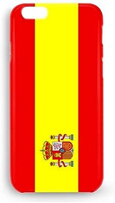 Funda Carcasa Bandera España para iPhone 7 Plus 7PLUS plástico ...