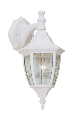 Designers Fountain 2461-WH Value Collection Wall Lanterns, White Designers Fountain Exterior Lighting