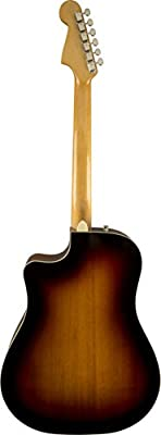 Fender California Series 0968601221 Kingman ASCE 6-String Acoustic-Electric Guitar + Case, Sunburst