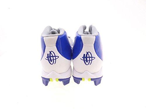 Nike Huarache 2kfilth Keystone Mid Botas De Béisbol Para Hombre Gris-azul-blanco 11.5 Us