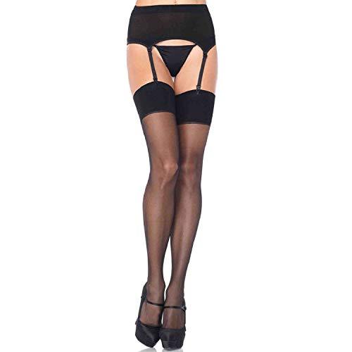 Leg Avenue Womens Sheer Garter Belt and Stocking Set
