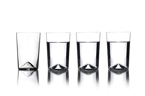 Sempli Monti-Aqua, Clear Water Glasses, Set of 4