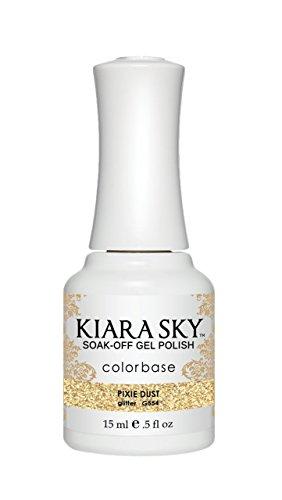 Kiara Sky Gel Polish, Pixie Dust, 15 Gram