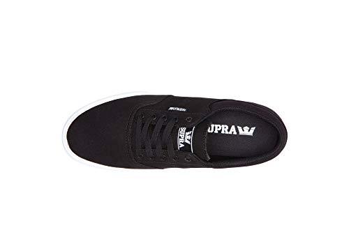 white Scarpe Skateboard black Uomo Da Nero 2 Cobalt Supra m 5tw05