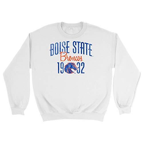 Official NCAA Boise State University Broncos - 01AMAG13, G.A.18000, WHT, M