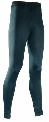 Terramar Men's Thermasilk Filament Pant (Black, X-Large)
