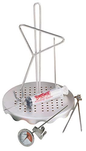 Bayou Classic 0835 Complete Poultry Frying Rack (Turkey Hanger)